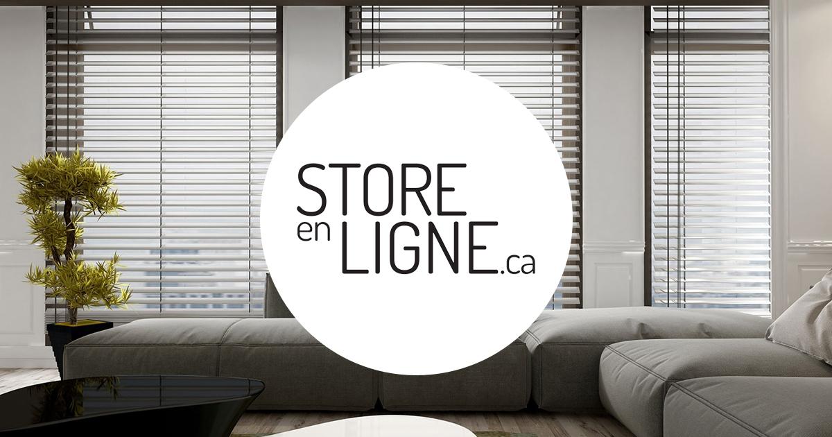 store sur mesure toiles et stores en ligne 50 rabais. Black Bedroom Furniture Sets. Home Design Ideas